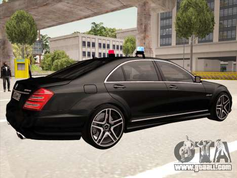 Mercedes-Benz S65 AMG 2012 for GTA San Andreas right view
