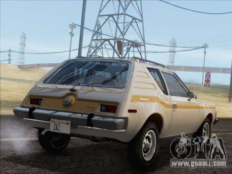 AMC Gremlin X 1973 for GTA San Andreas left view