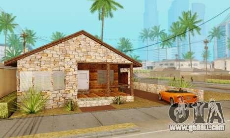 New house big Smoke for GTA San Andreas second screenshot