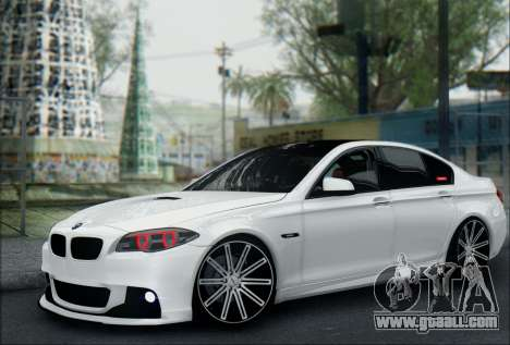 BMW 550 F10 VOSSEN for GTA San Andreas