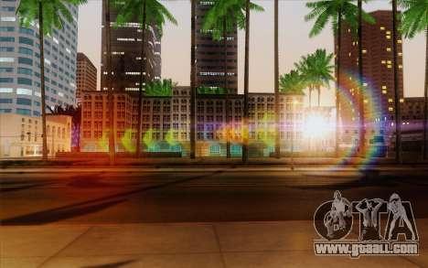 IMFX Lensflare v2 for GTA San Andreas