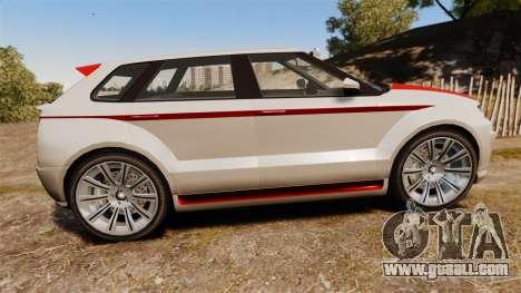 GTA V Enus Huntley S for GTA 4 left view