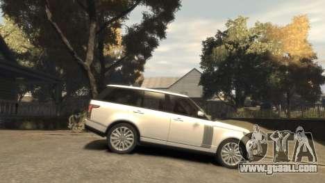 Range Rover Vogue 2014 for GTA 4 inner view