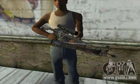 Crossbow from the Battlefield 4 for GTA San Andreas third screenshot