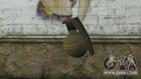 M-67 Grenade for GTA San Andreas