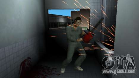 Chainsaw Taiga for GTA Vice City