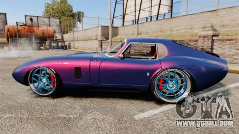 Shelby Cobra Daytona Coupe for GTA 4 left view