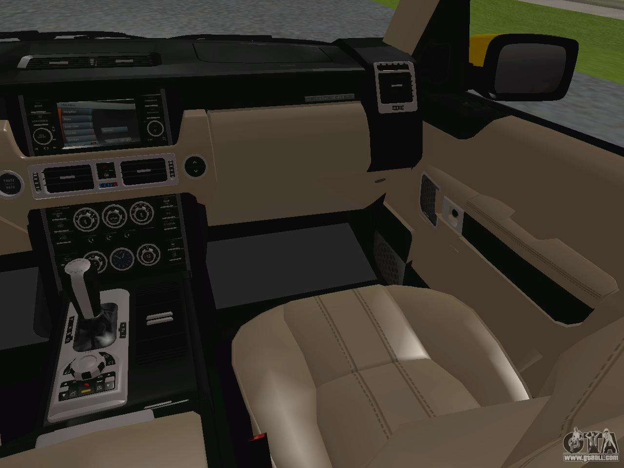 range rover supercharged series iii for gta san andreas. Black Bedroom Furniture Sets. Home Design Ideas