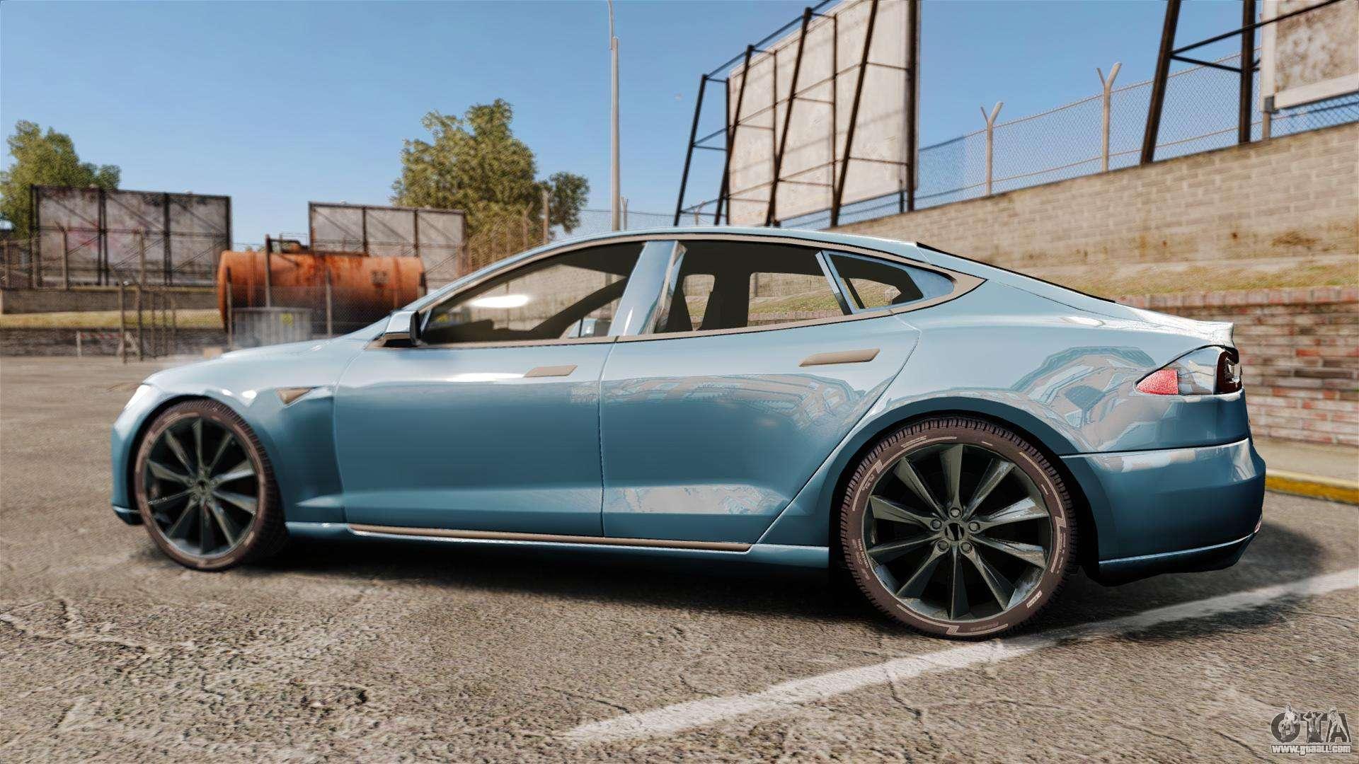 Tesla Model S For Gta 4