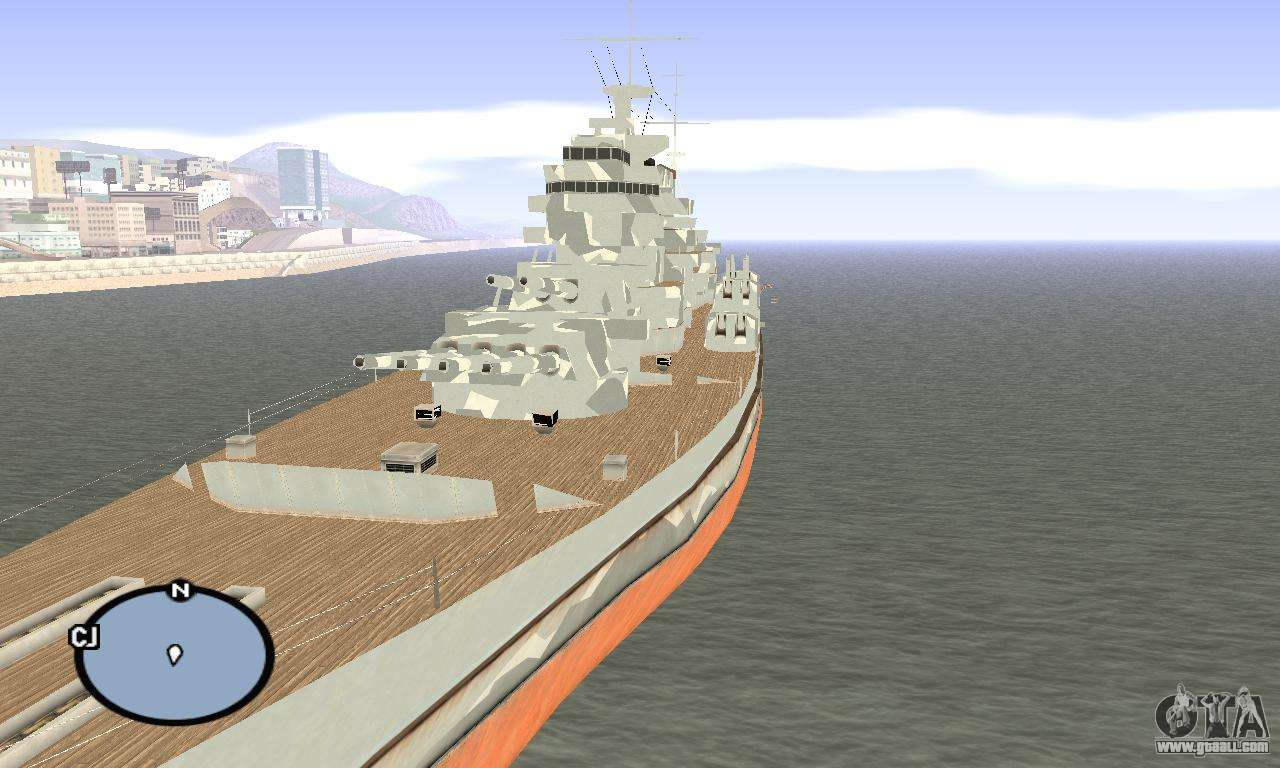 Hms Prince Of Wales For Gta San Andreas