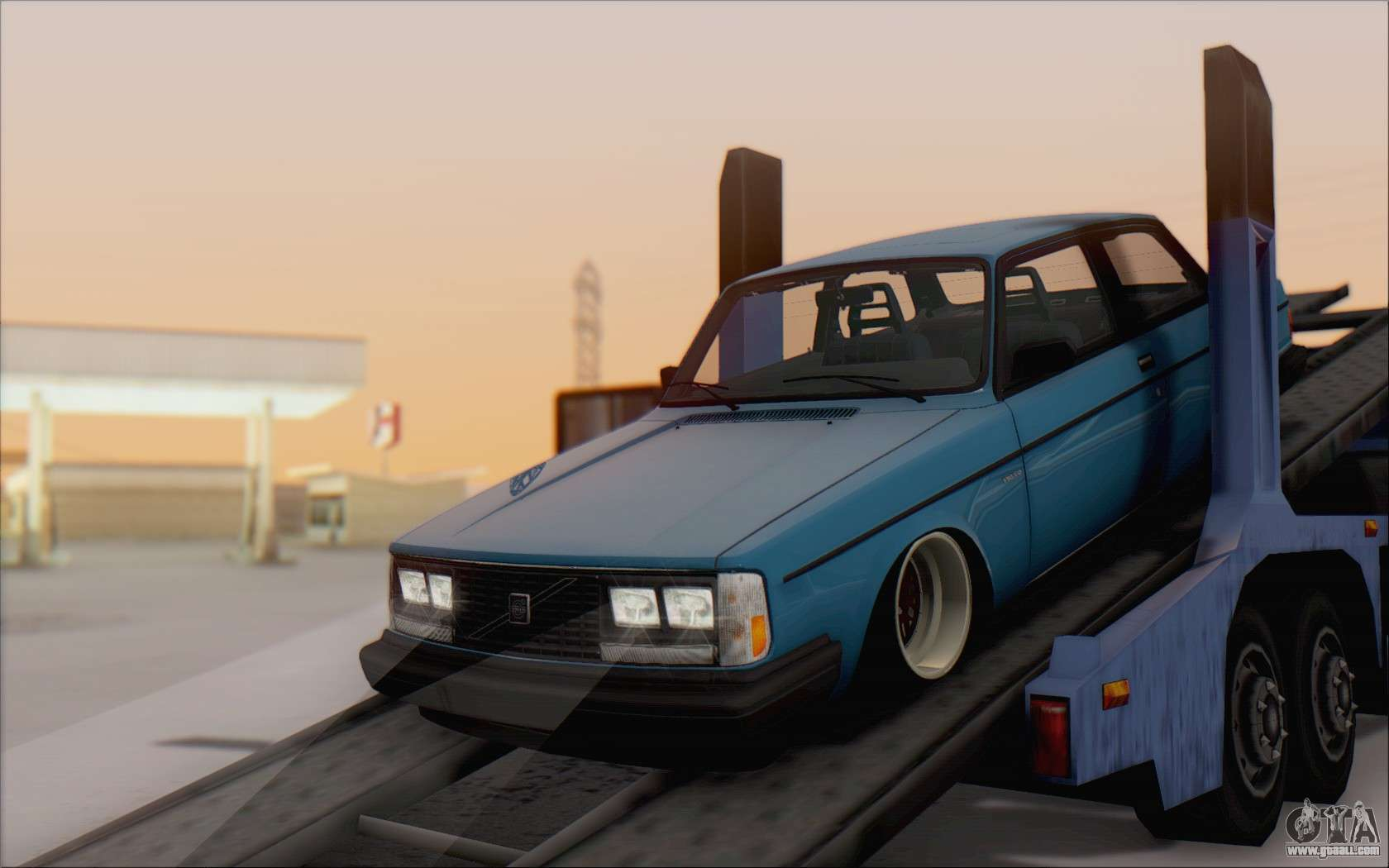 Volvo 242 Stance 1983 For Gta San Andreas