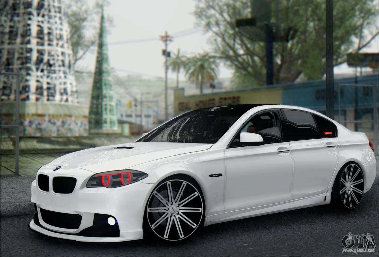 10 Passenger Vehicles >> BMW 550 F10 VOSSEN for GTA San Andreas