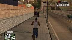 C-HUD By Kapo for GTA San Andreas