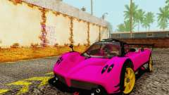 Pagani Zonda Type R Pink for GTA San Andreas