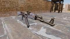 The AK-47 Blue Camo