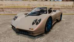 Pagani Zonda C12 S Roadster 2001 PJ1 for GTA 4