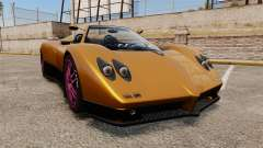 Pagani Zonda C12 S Roadster 2001 PJ2 for GTA 4