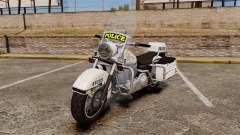 GTA V Western Motorcycle Police Bike