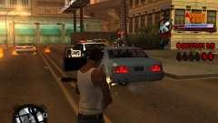 C-HUD Admins Team for GTA San Andreas