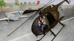 MH-6 Little Bird for GTA San Andreas