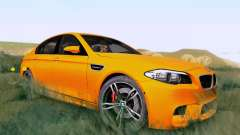 BMW F10 M5 2012 Stock for GTA San Andreas