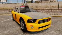 Bravado Buffalo Taxi for GTA 4