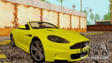 Aston Martin DBS Volante for GTA San Andreas