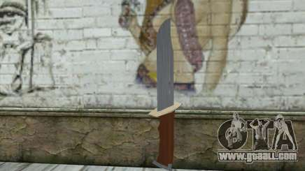 Military knife for GTA San Andreas