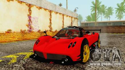 Pagani Zonda Type R Red for GTA San Andreas