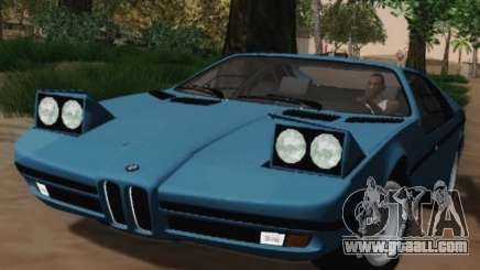 BMW M1 Turbo 1972 for GTA San Andreas