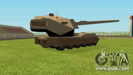 RhinoKnappe auf. 128mm Zenit-Waffe for GTA San Andreas