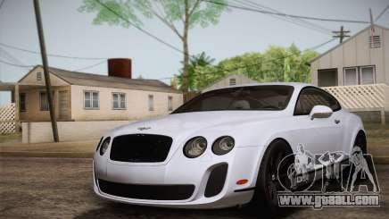 Bentley Continental SuperSports 2010 v2 Finale for GTA San Andreas