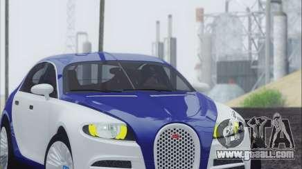 Bugatti Galibier 16c Final for GTA San Andreas
