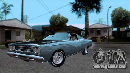Plymouth Road RunneR 1969 for GTA San Andreas