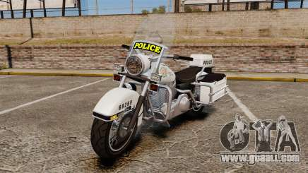 GTA V Western Motorcycle Police Bike for GTA 4