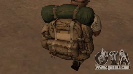 Рюкзак из MОH Warfighter for GTA San Andreas