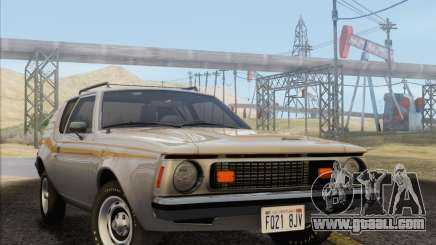 AMC Gremlin X 1973 for GTA San Andreas
