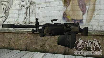 M249 SAW Machine Gun for GTA San Andreas
