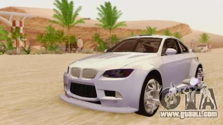 BMW M3 E92 SHD Tuning for GTA San Andreas