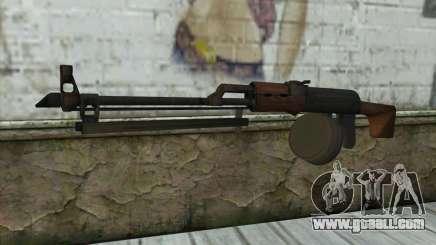 RPK Machine Gun for GTA San Andreas