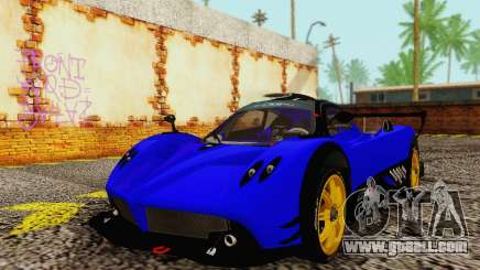 Pagani Zonda Type R Blue for GTA San Andreas