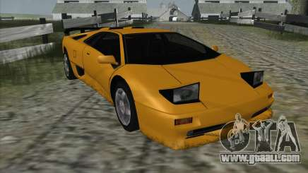 Lamborghini Diablo SV for GTA San Andreas