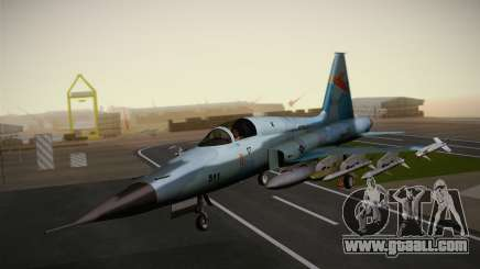 F-5E Tiger II for GTA San Andreas