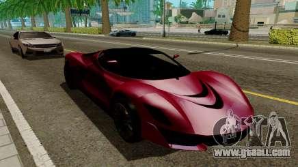 GTA 5 Grotti Turismo for GTA San Andreas