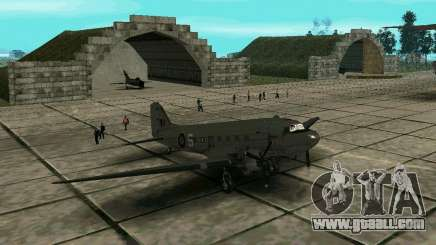 C-47 Dakota RAF for GTA San Andreas