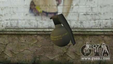 M-67 Grenade for GTA San Andreas