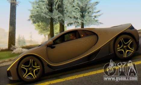 GTA Spano 2014 Carbon Edition for GTA San Andreas back view