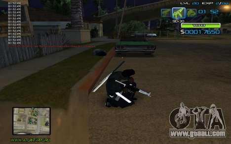 C-HUD by nayshnik for GTA San Andreas