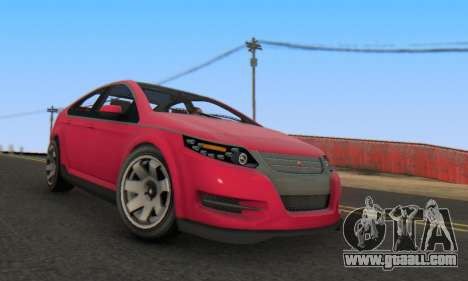 Cheval Surge V1.0 for GTA San Andreas right view