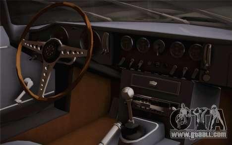 Jaguar E-Type 4.2 for GTA San Andreas right view